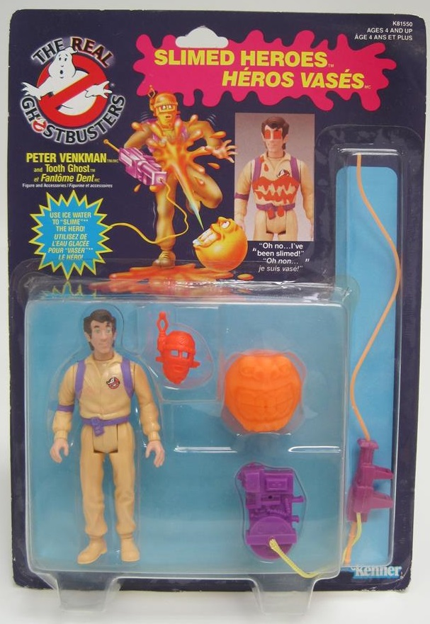 The Real Ghostbusters vintage figurine Accessoire Fright Features MINI GHOST