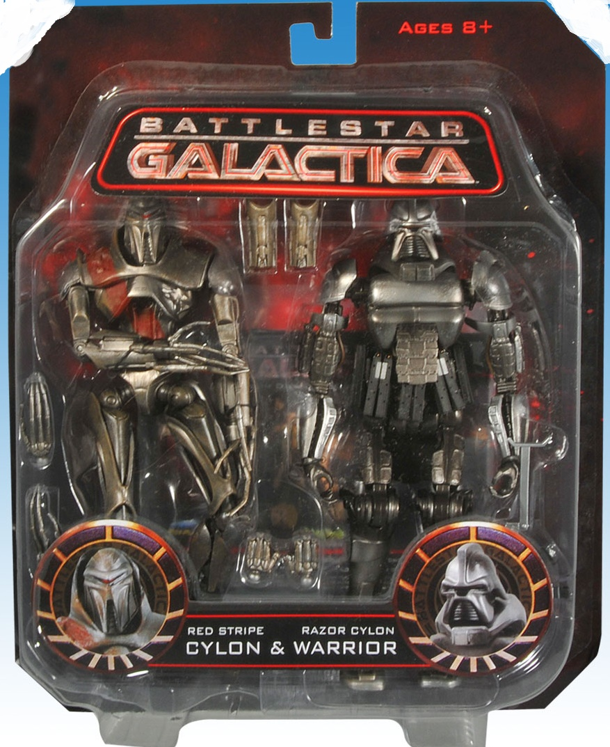 Red Stripe Cylon & Cylon Warrior
