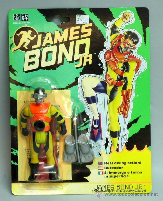 James Bond Jr. Scuba Gear