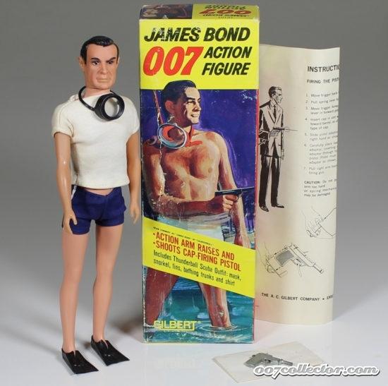 AC Gilbert James Bond Figures