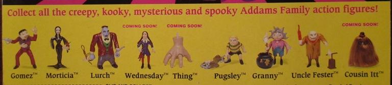 Playmates Addams Family